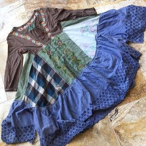 Free People fit and flare boho gypsy festival VGUC